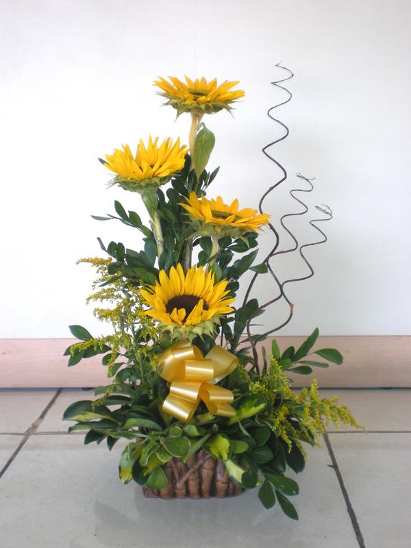 Florería Linnette Arreglos Florales Girasoles