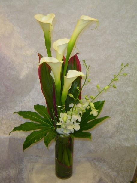 Florería Linnette Arreglos Florales Calas Cartuchos